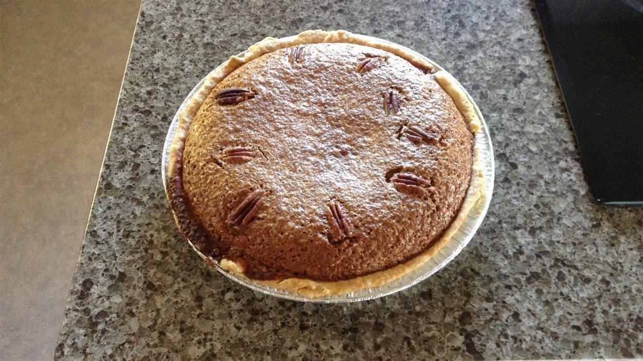 La tarte aux sucre avec haricots pinto de Thérèse Rémillard