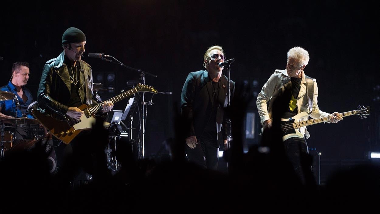 U2 en concert à Vancouver en 2015
