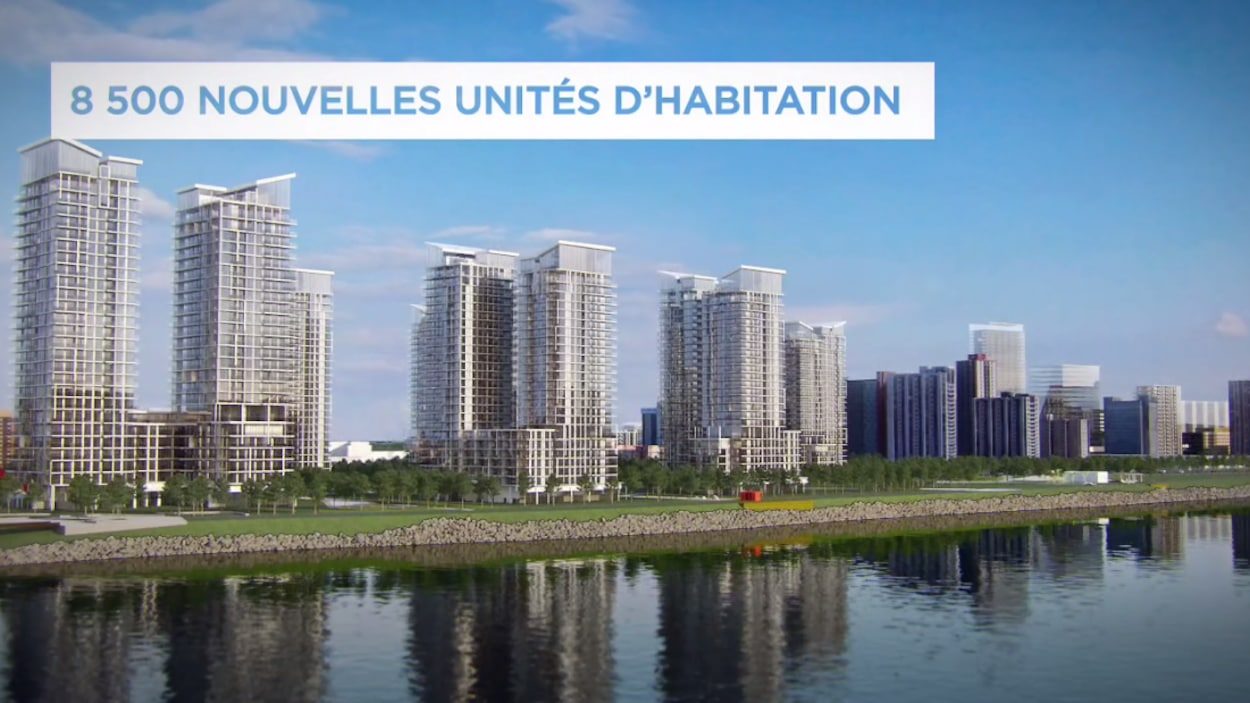 Unités d'habitation dans le projet de nouveau centre-ville à Longueuil