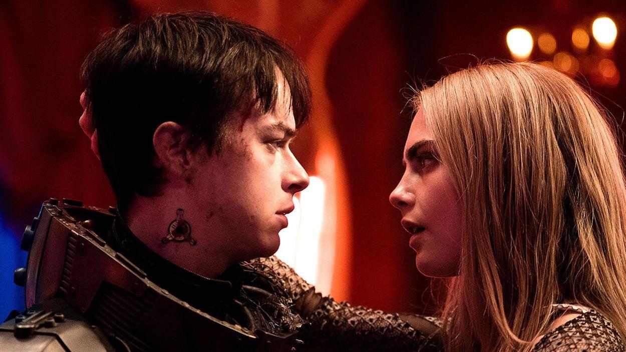 Dane DeHaan (Valérian) et Cara Delevingne (Laureline) dans «Valérian et la cité des mille planètes»