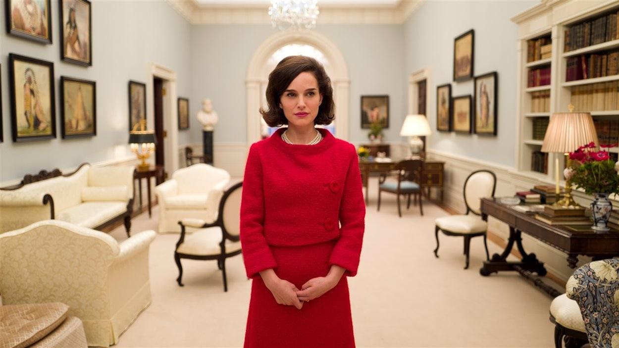 Jackie Kennedy interprétée par Natalie Portman dans le film <em>Jackie</em>, de Pablo Larrain