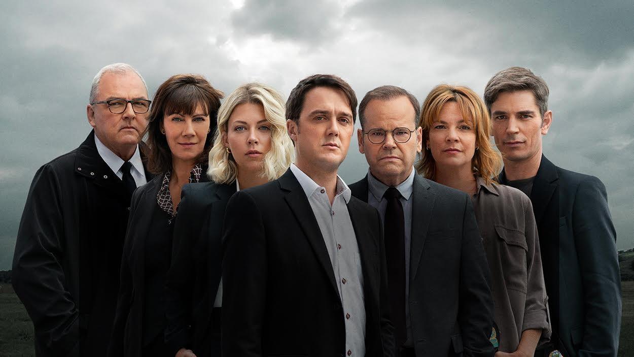 L'équipe d'enquêteurs de District 31.