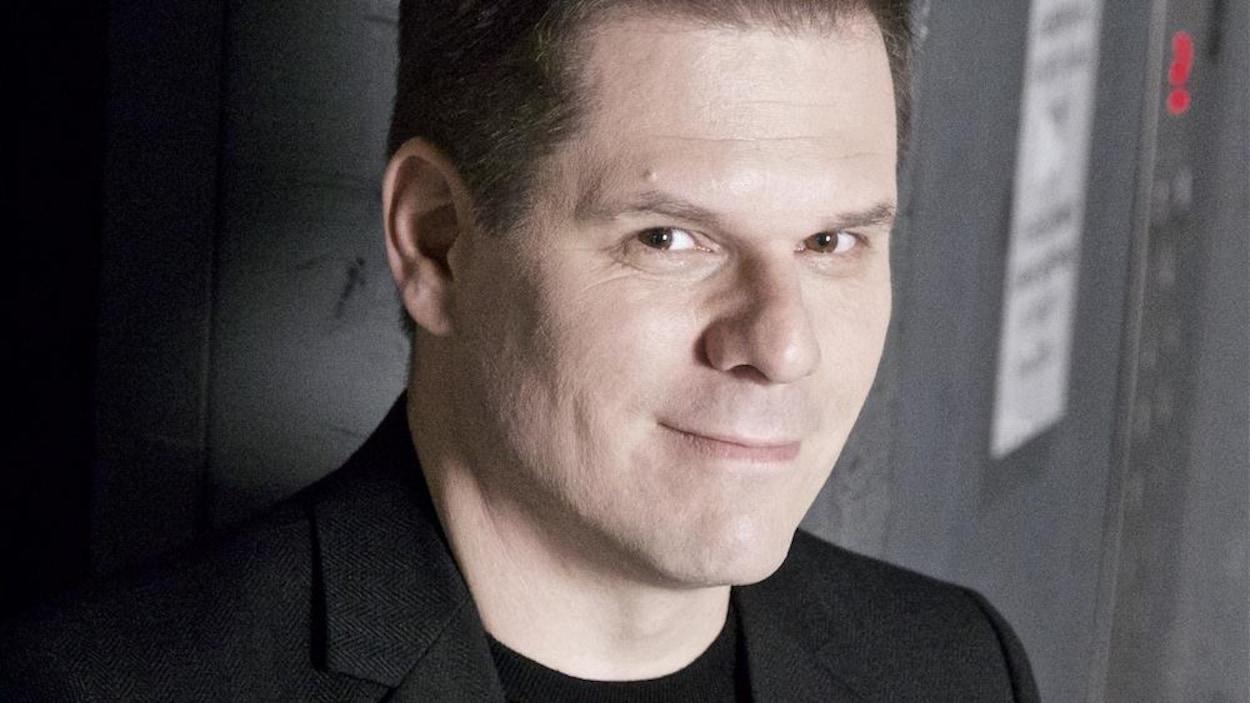Portrait de Patrick Lagacé.