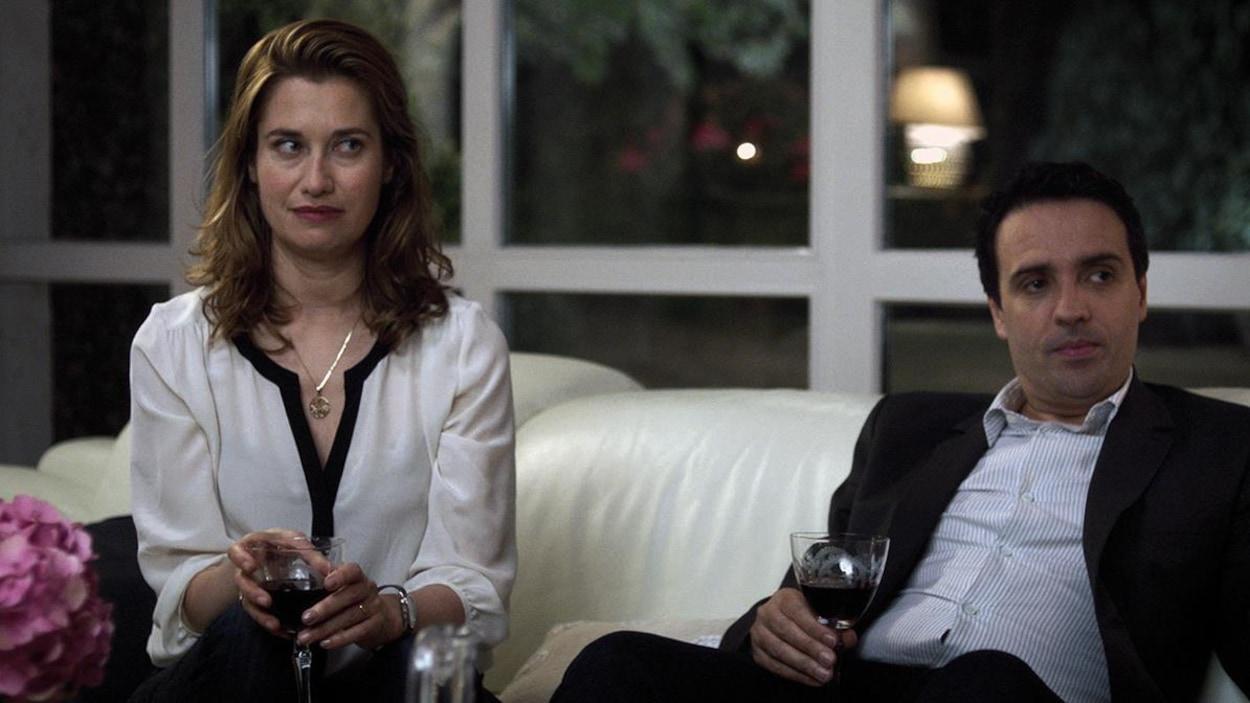 Emmanuelle Devos et Gilbert Melki