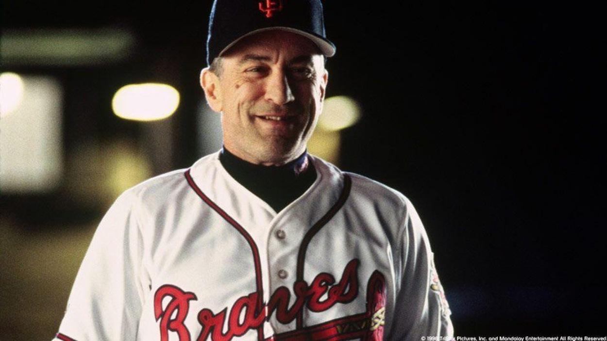 Robert de Niro en fan de baseball
