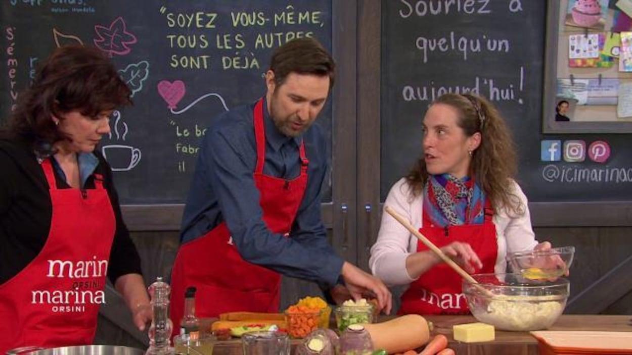 Ils cuisinent