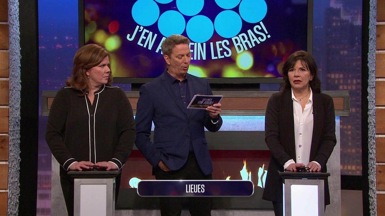 Elles s'affrontent dans un questionnaire animé par Patrice L'Ecuyer.