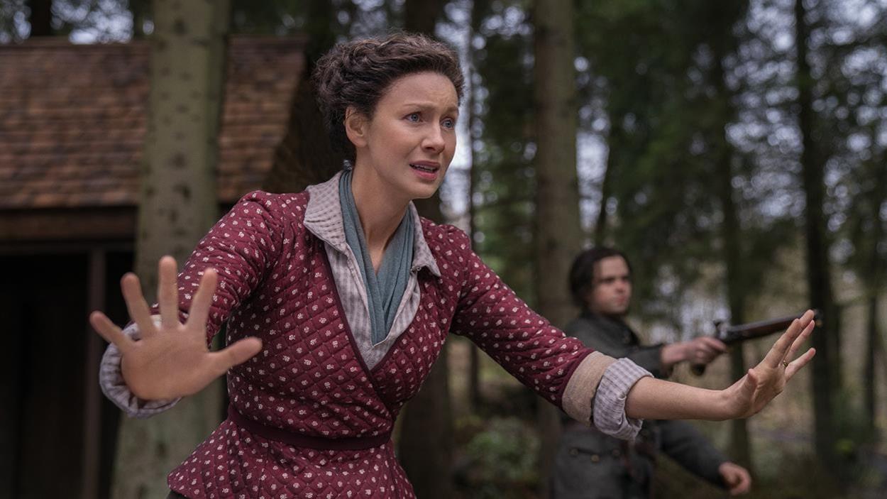 Claire veut empêcher le peuple voisin et les Cherokees de s'entretuer.