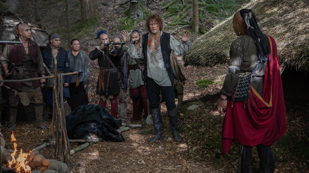 Jamie est menaçé par le peuple Cherokee.