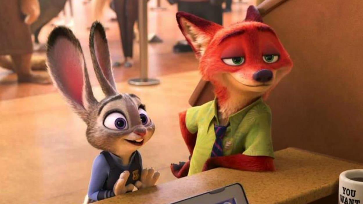 La lapine et le renard enquêtent