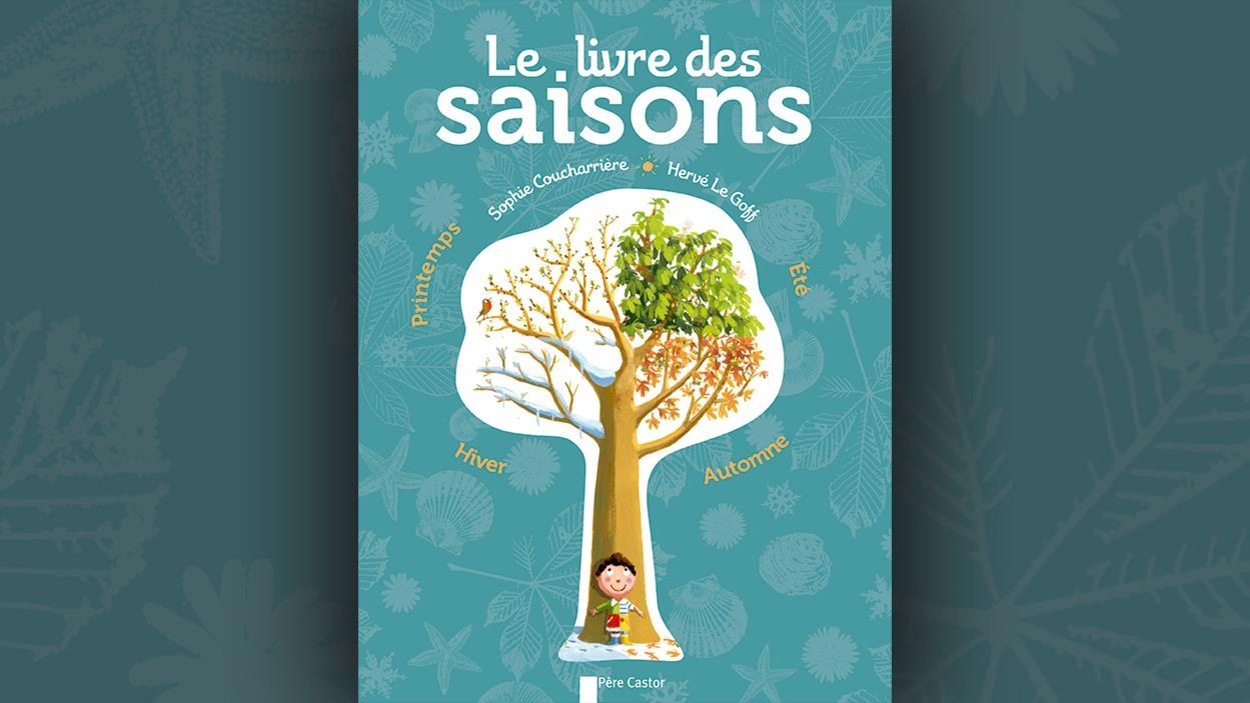 Couverture d'un livre illustrant un grand arbre et ses branches au fil des saisons.