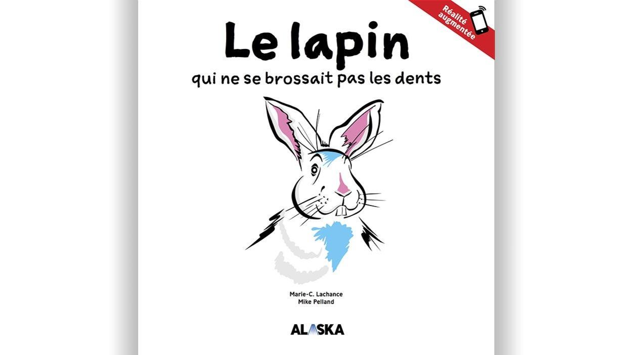 Couverture du livre Le lapin qui ne se brossait pas les dents.