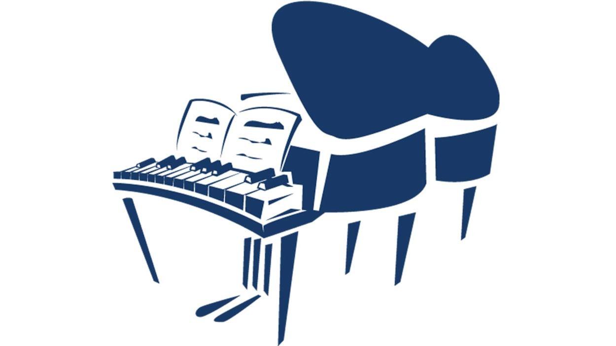 Illustration d'un piano à queue.