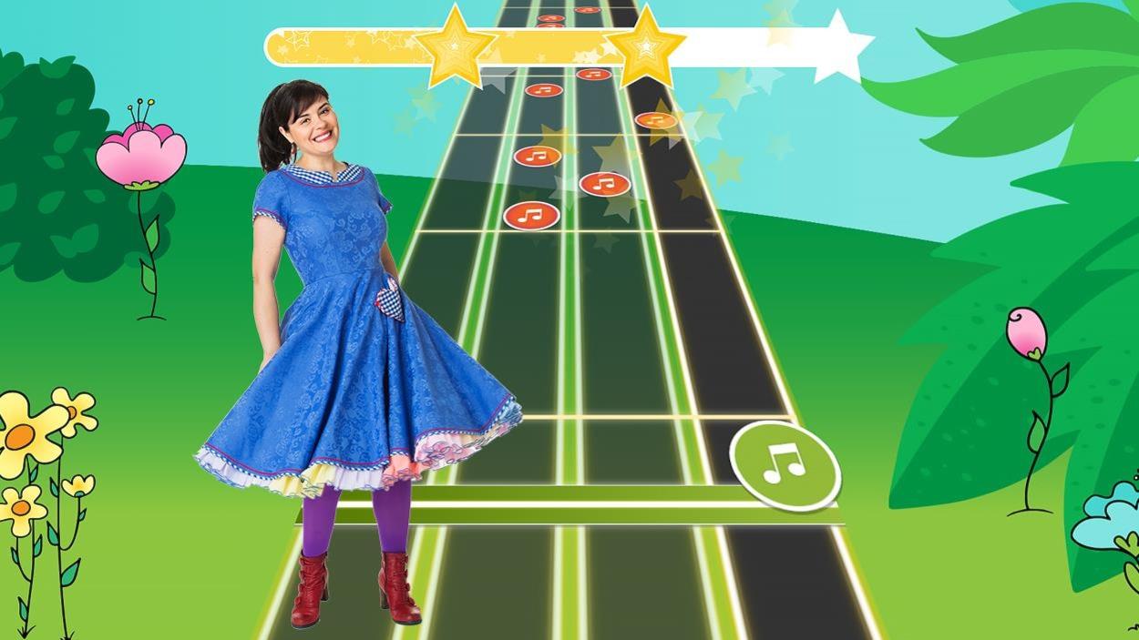 Capture d'écran du jeu d'Ari Cui Cui