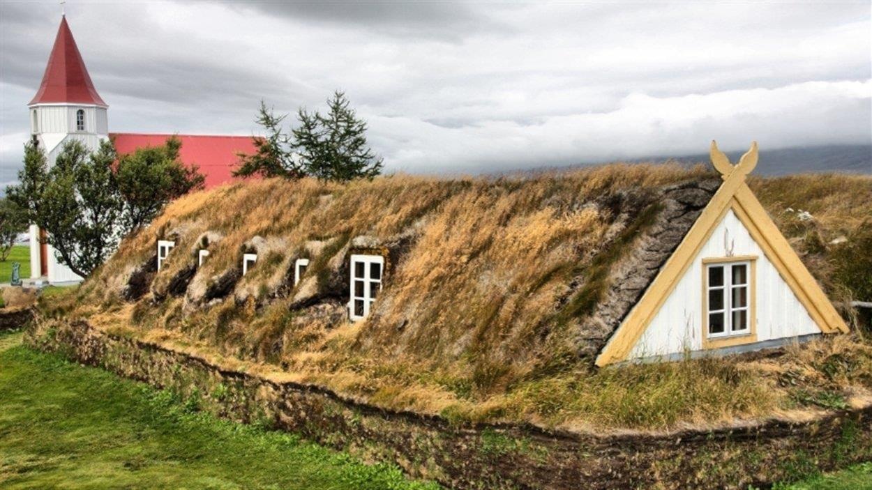Billet for Maison avec toit vegetal