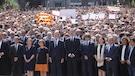 Des milliers de personnes se sont rassemblées à Barcelone