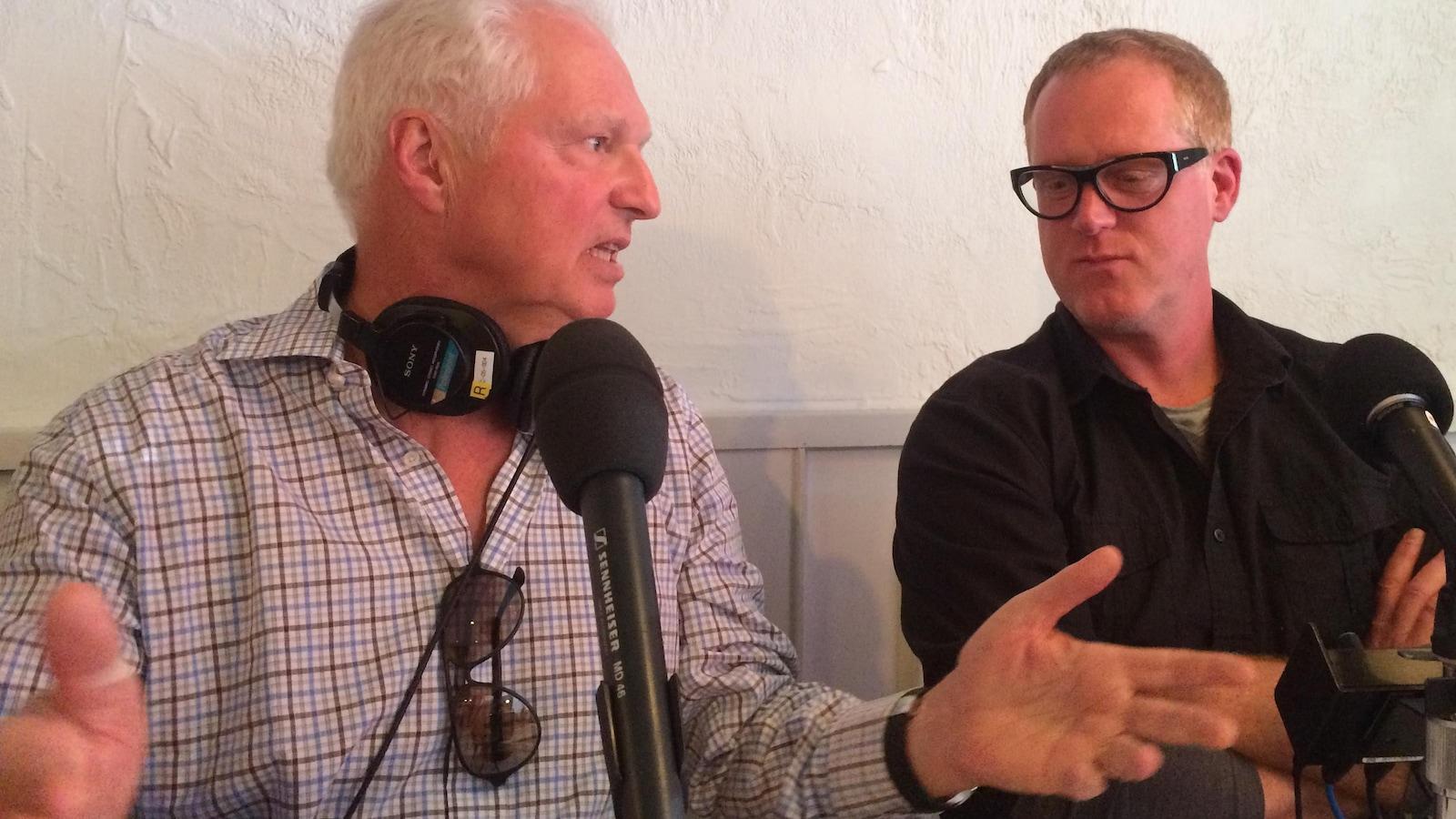André Desmarais en entrevue à «On n'est pas sorti de l'auberge» avec Marc Séguin