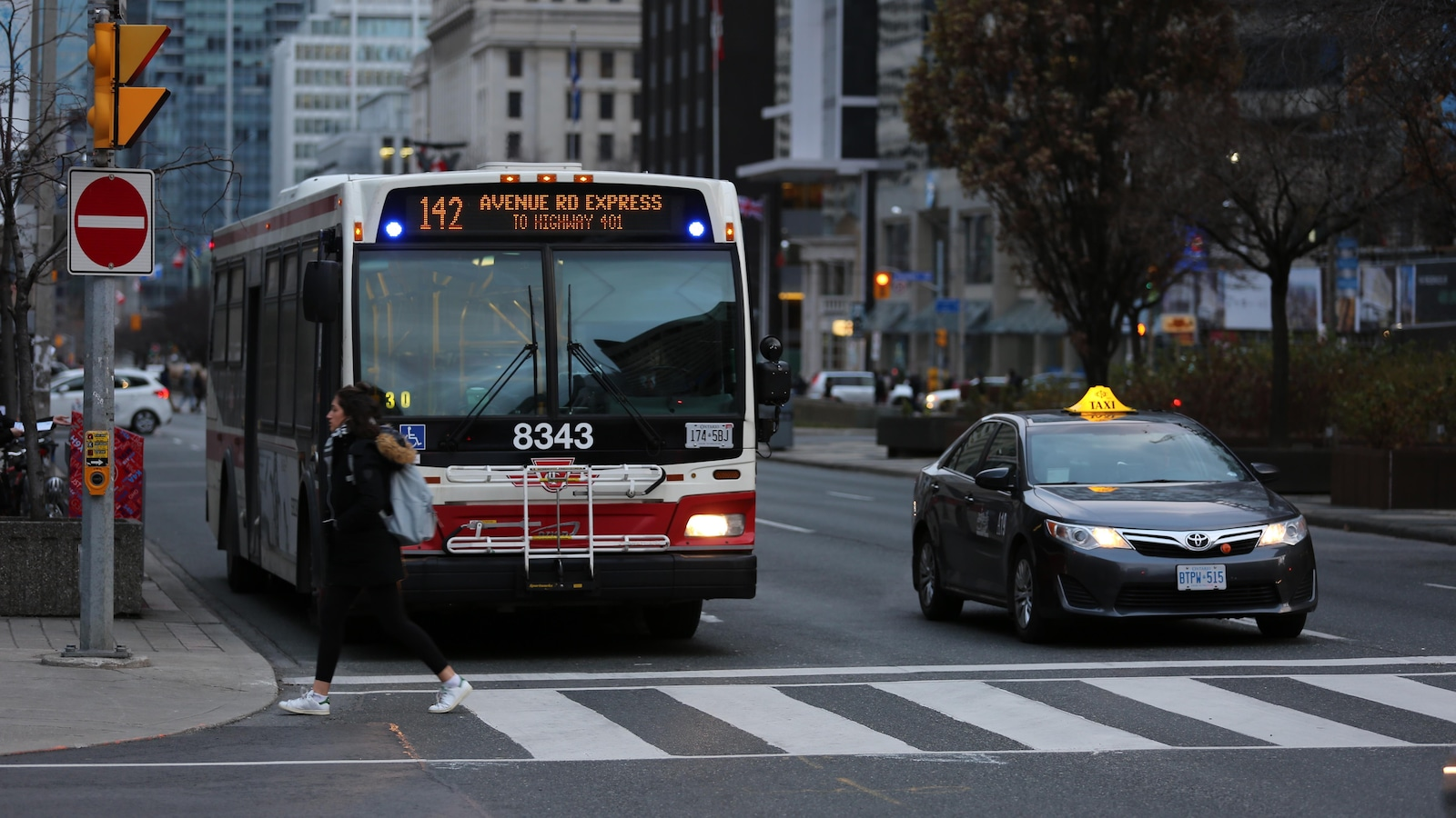 Un autobus à Toronto