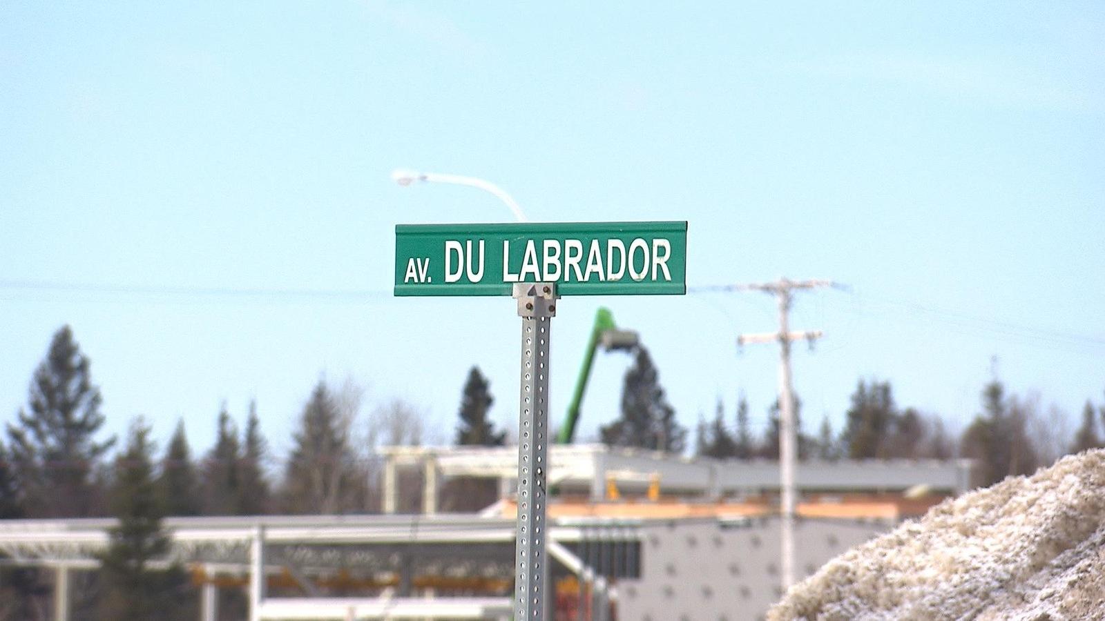 L'avenue du Labrador à Baie-Comeau.