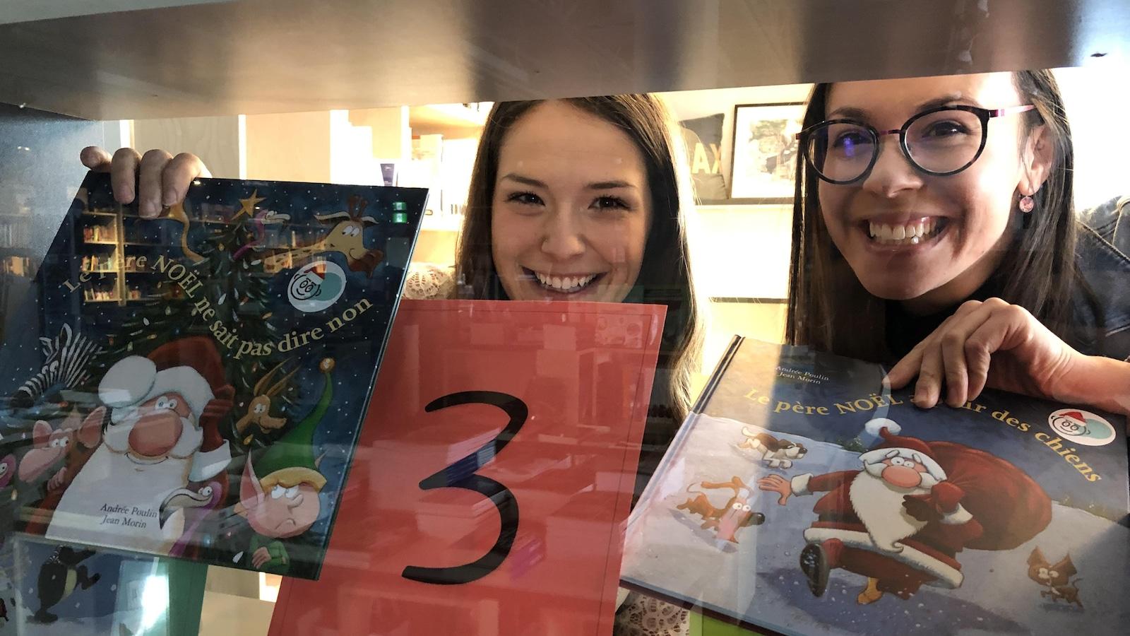 Audrey Dutilly, orthophoniste à la Clinique Orthophonic et Katherine Leclair, orthopédagogue à la Clinique ORpair ont lancé le projet L'avent en albums.