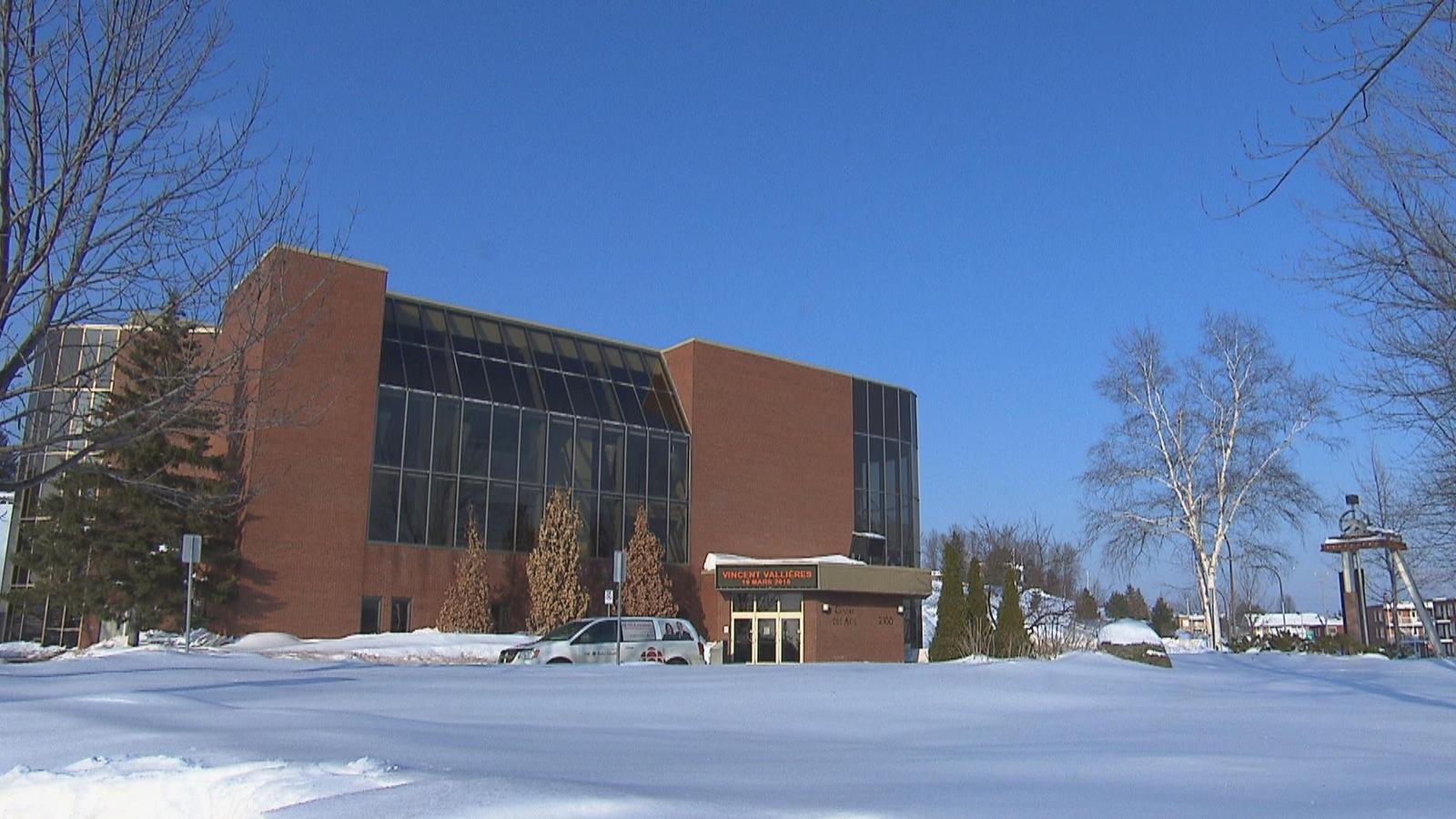 Le Centre des arts de Shawinigan.