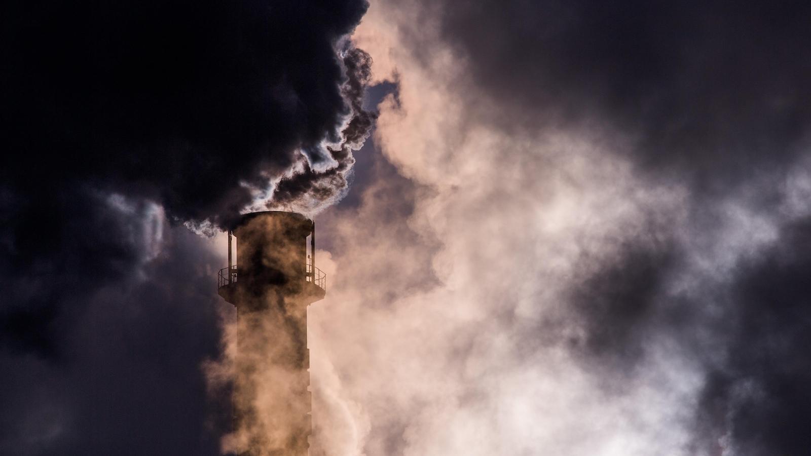 La production de gaz à effet de serre a continué d'augmenter en 2016.