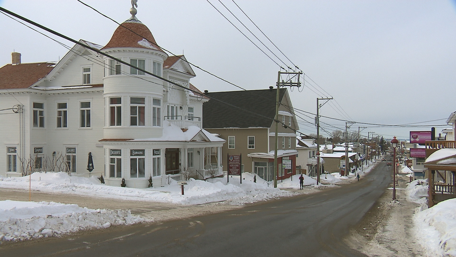 Le Château Landry a depuis quelques années son café au centre-ville de Mont-Joli