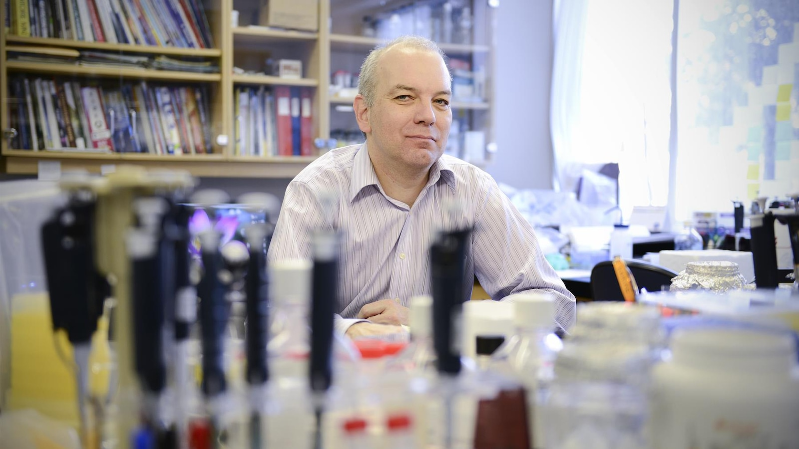 Daniel Sinnett, chercheur au Centre de cancérologie Charles-Bruneau du CHU Sainte-Justine