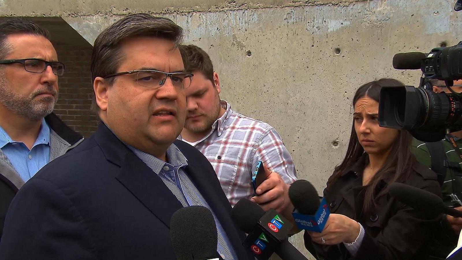 Le maire de Montréal Denis Coderre