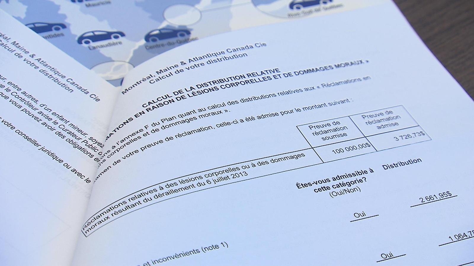Pierre Campagna affirme ne pas avoir reçu son chèque, qui, selon lui, devrait s'élever à 3726 $.