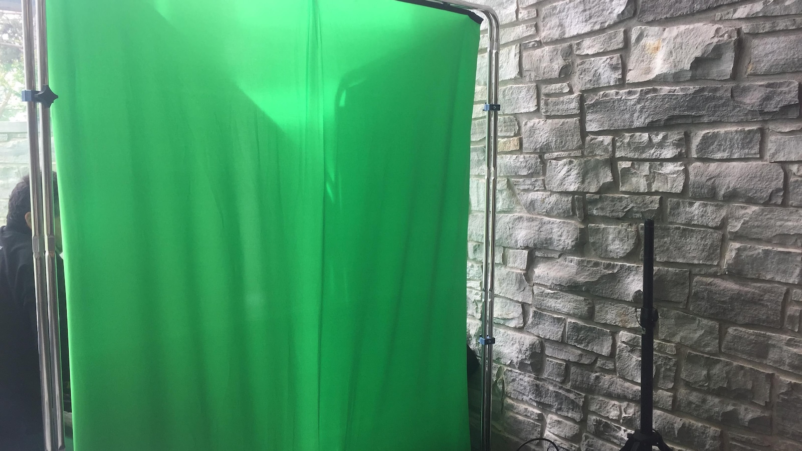 Un écran vert sera disponible pour répondre à la création de la clientèle.