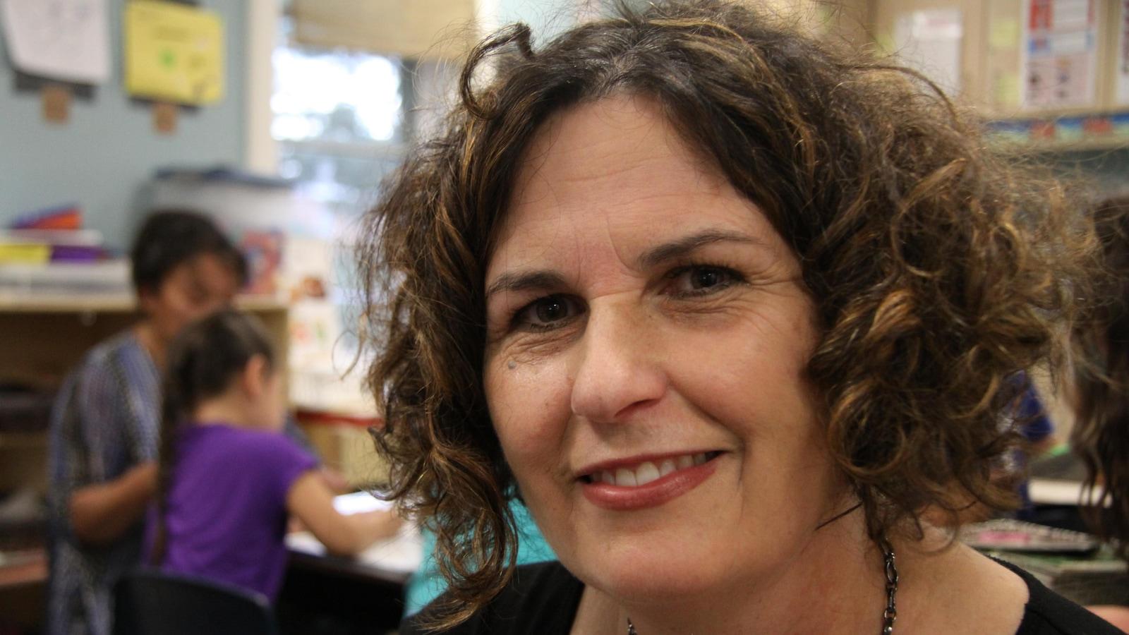 Karen Baker-Anderson, directrice du centre des enfants inuits d'Ottawa
