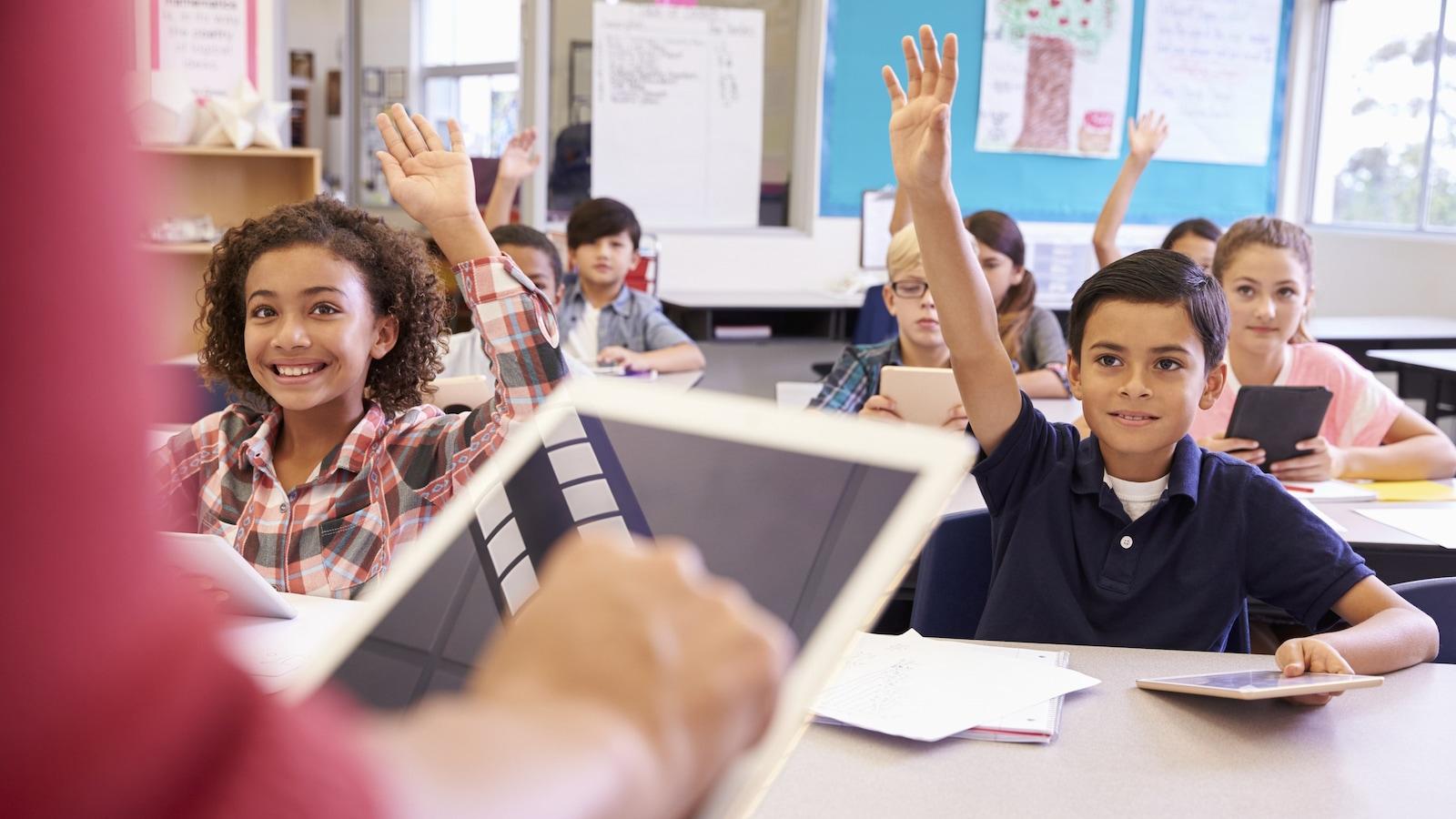 L'utilisation de nouvelles technologies dans les classes est de plus en plus populaire.