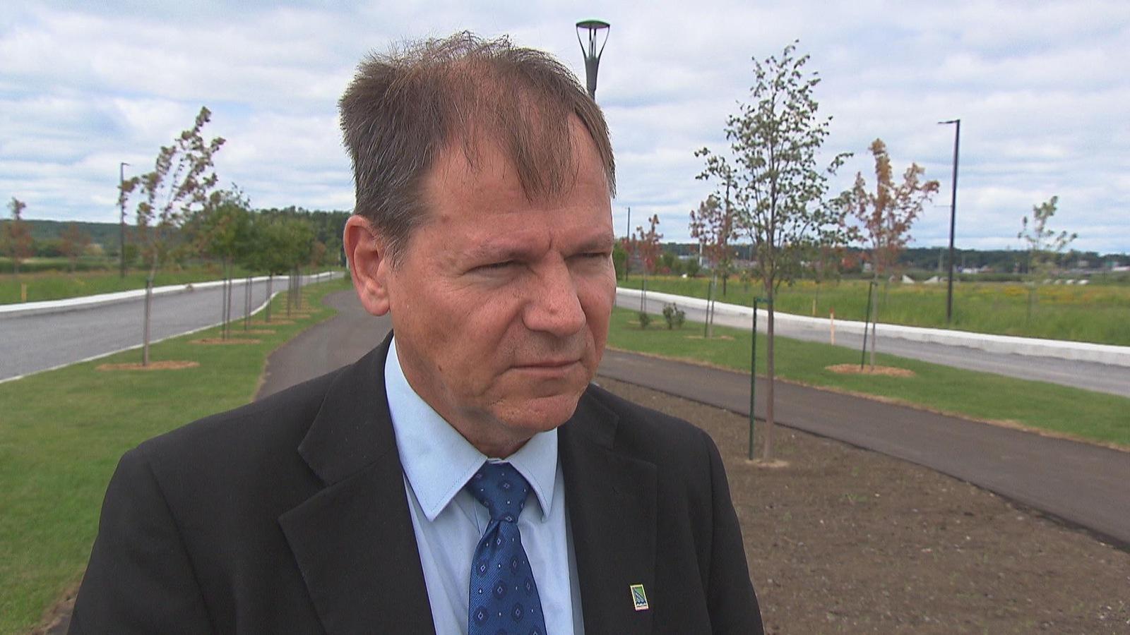 Jean-François Aubin, conseiller du district Marie-de-l'Incarnation et candidat à la mairie de Trois-Rivières