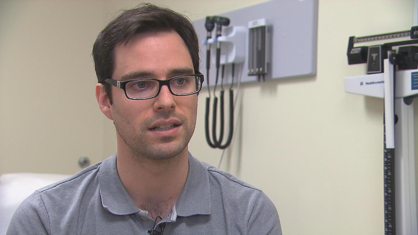 Dr Jérôme Proulx, médecin de famille à Saint-Léonard d'Aston au Centre-du-Québec