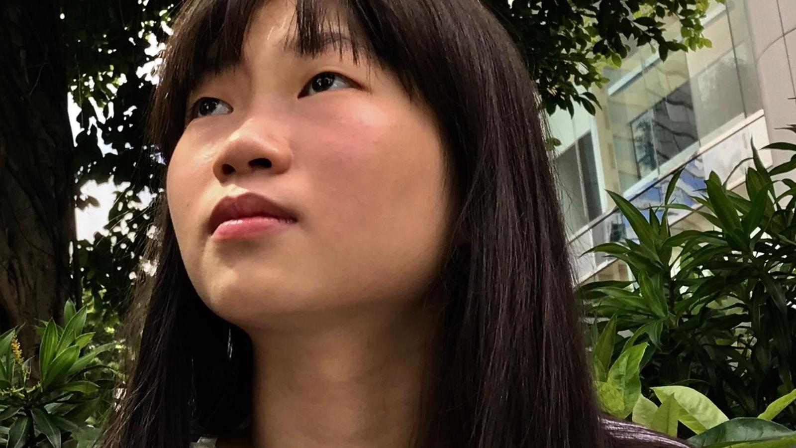 Pinky, jeune hongkongaise, juin 2017