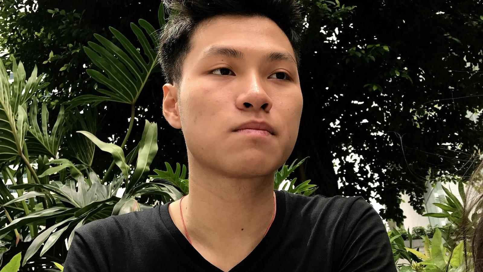 Edward, jeune hongkongais, juin 2017