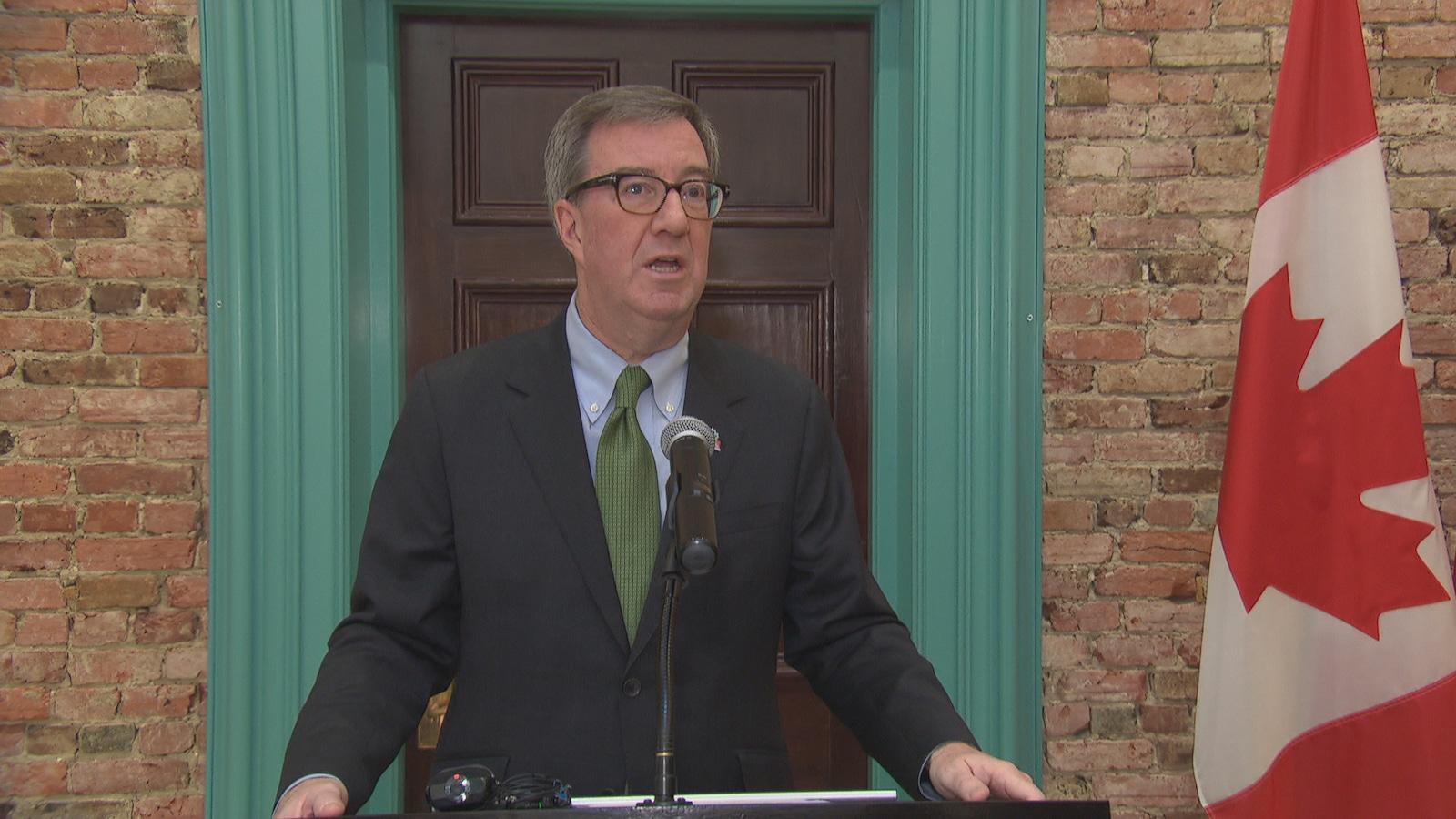 Le maire d'Ottawa a fait un discours pour annoncer les événements à venir en 2017