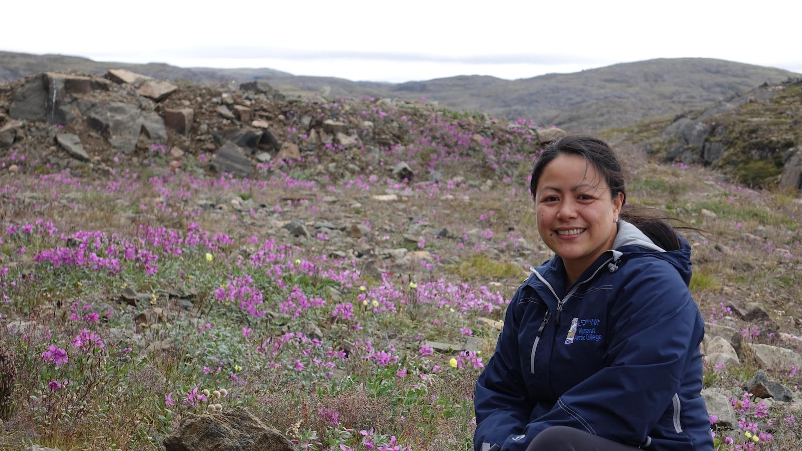 Jovelyn Acbayan, originaire des Philippines, est arrivée à Iqaluit en septembre 2007.