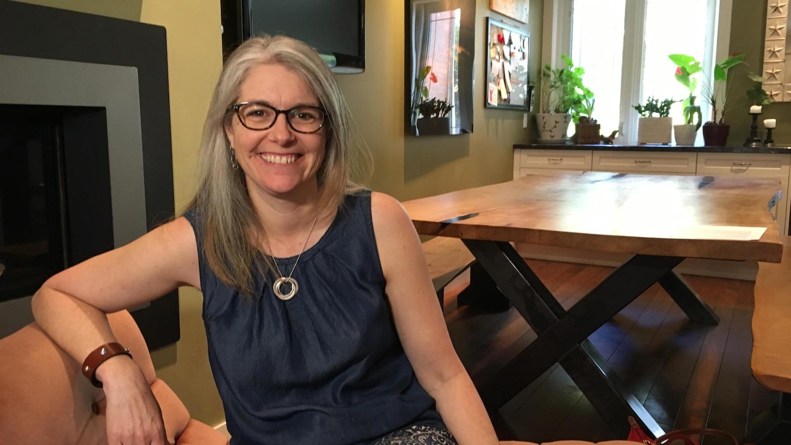 Lianne Doucet est membre de la Coalition de parents pour une école secondaire de quartier.