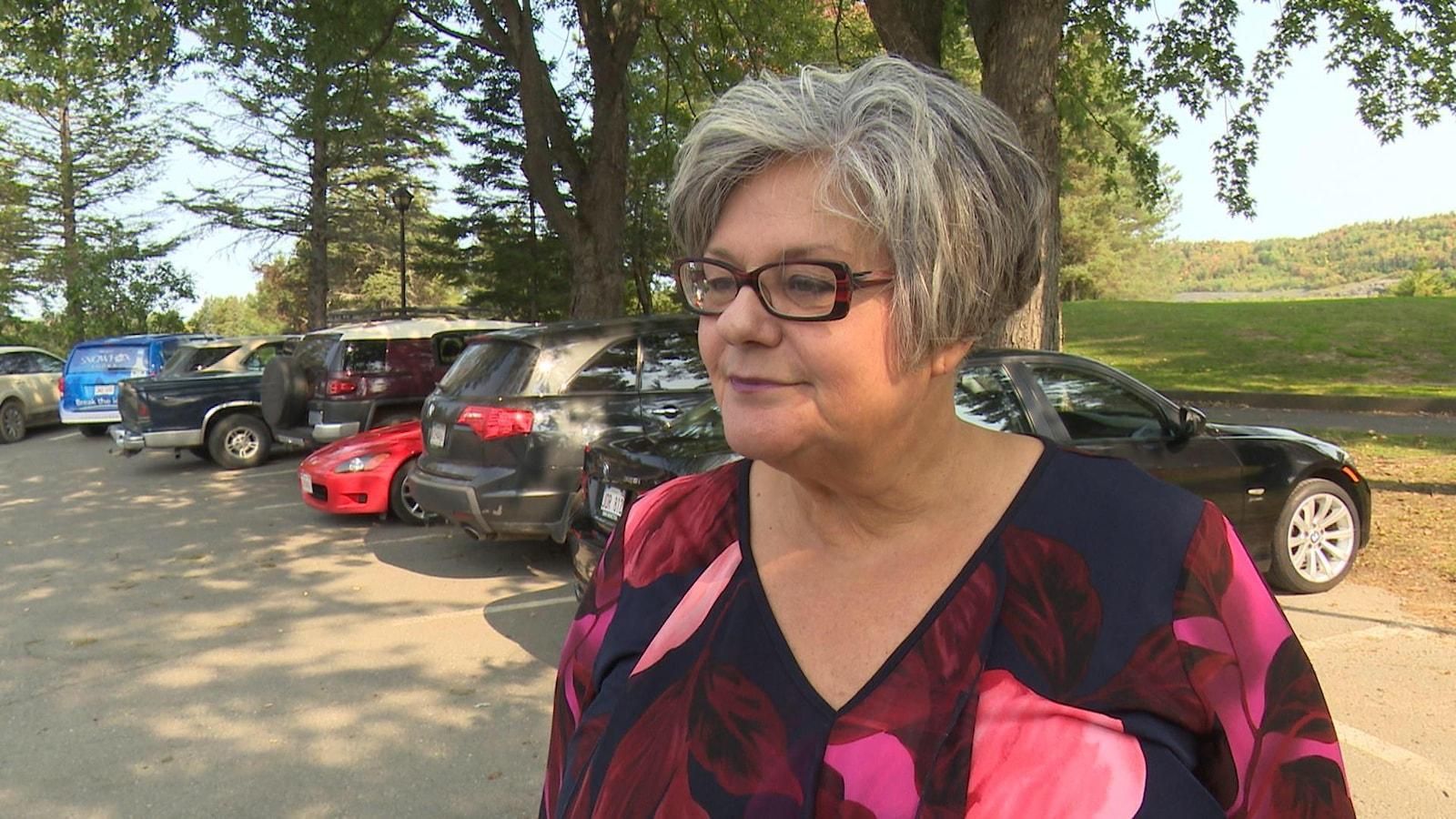 Madeleine Dubé est la seule députée francophone du Parti progressiste-conservateur du Nouveau-Brunswick