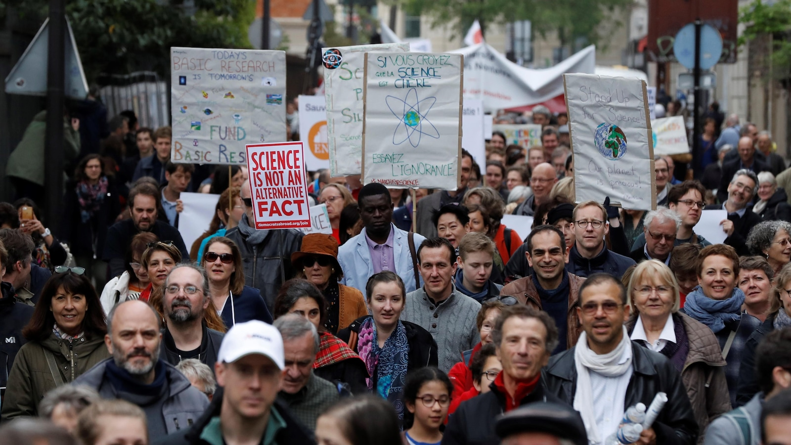 La Marche pour la science de Paris