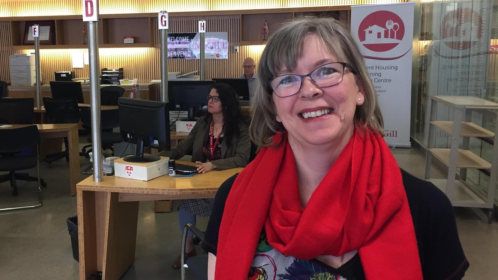 La directrice du service des admissions de l'Université McGill, Kim Bartlett.
