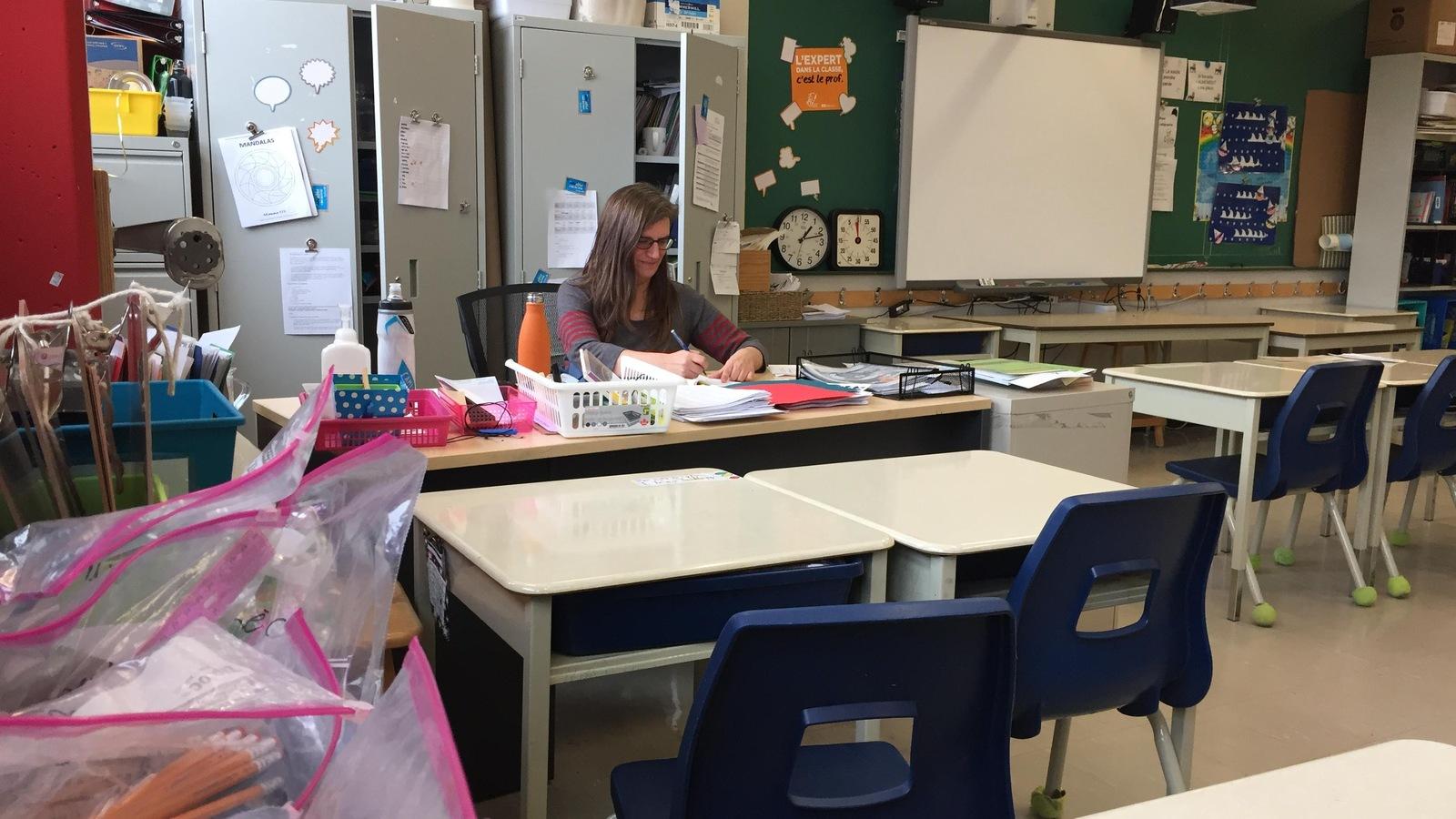 Michelle Henrichon, enseignante de 5e année à l'école Baril