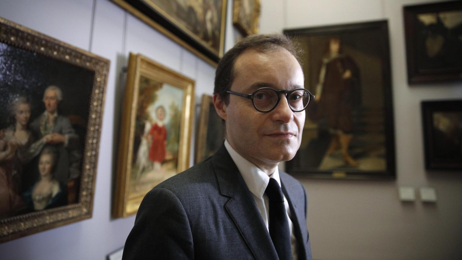 Sébastien Allard, directeur de la section tableaux du musée du Louvre