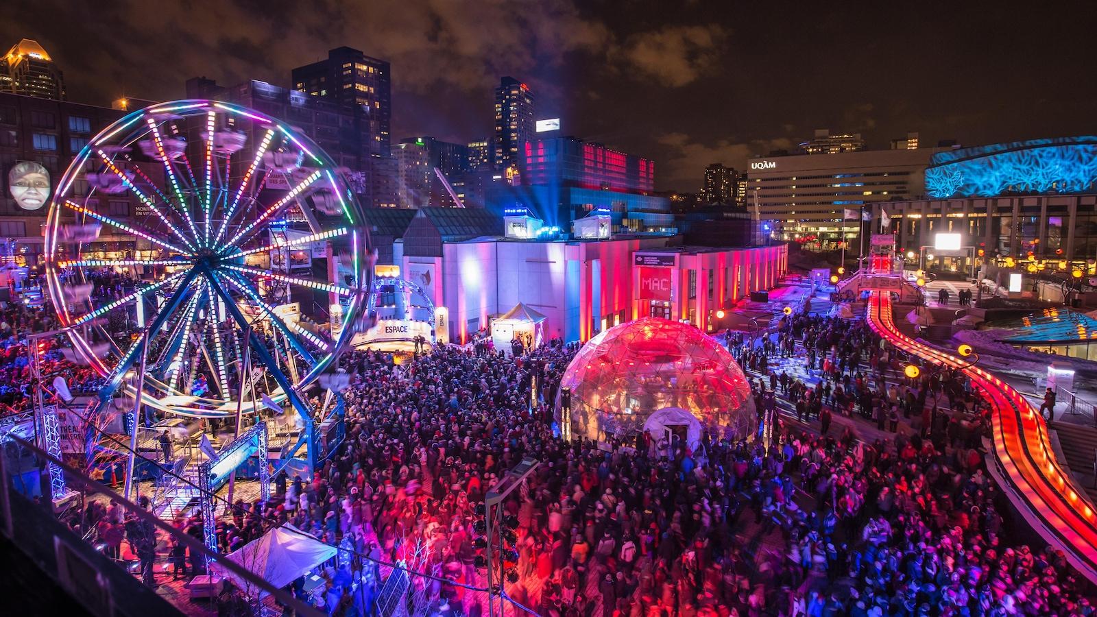 L'évènement Montréal en lumière