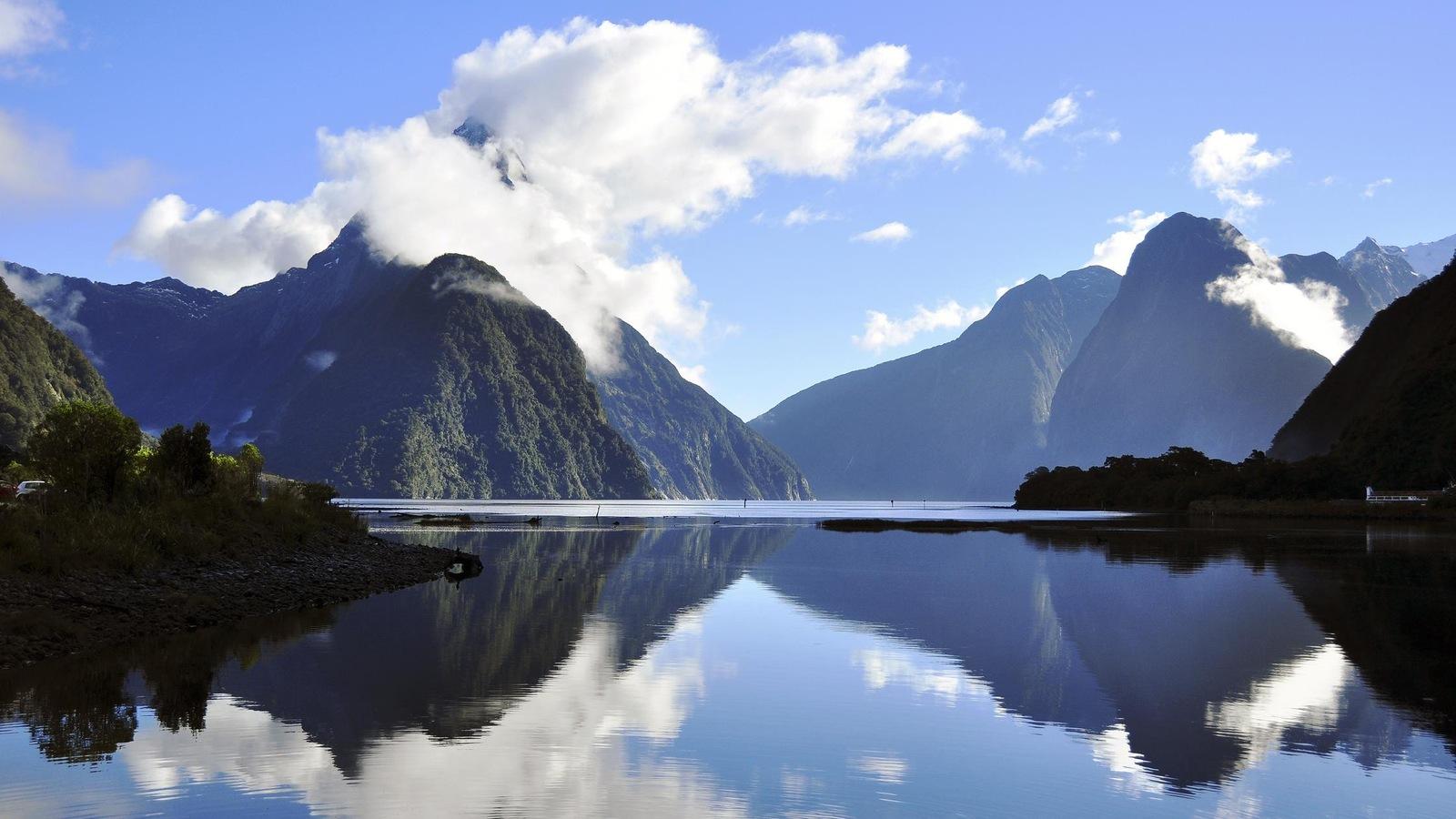 La Nouvelle-Zélande se distingue notamment par ses montagnes.