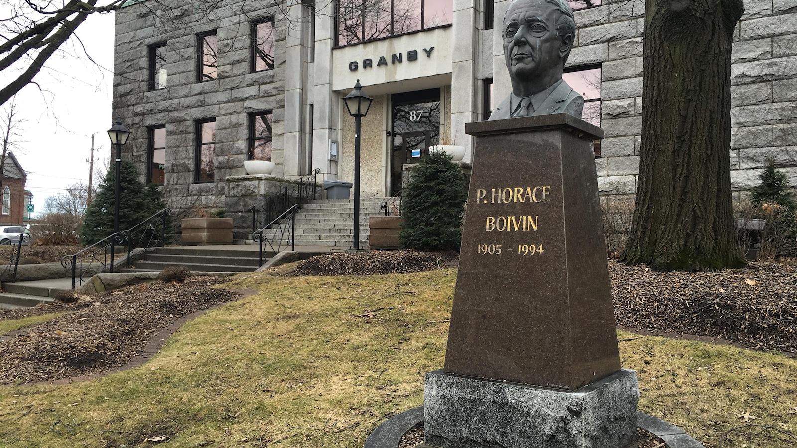 Horace Boivin a été maire de la ville de Granby de 1939 à 1964