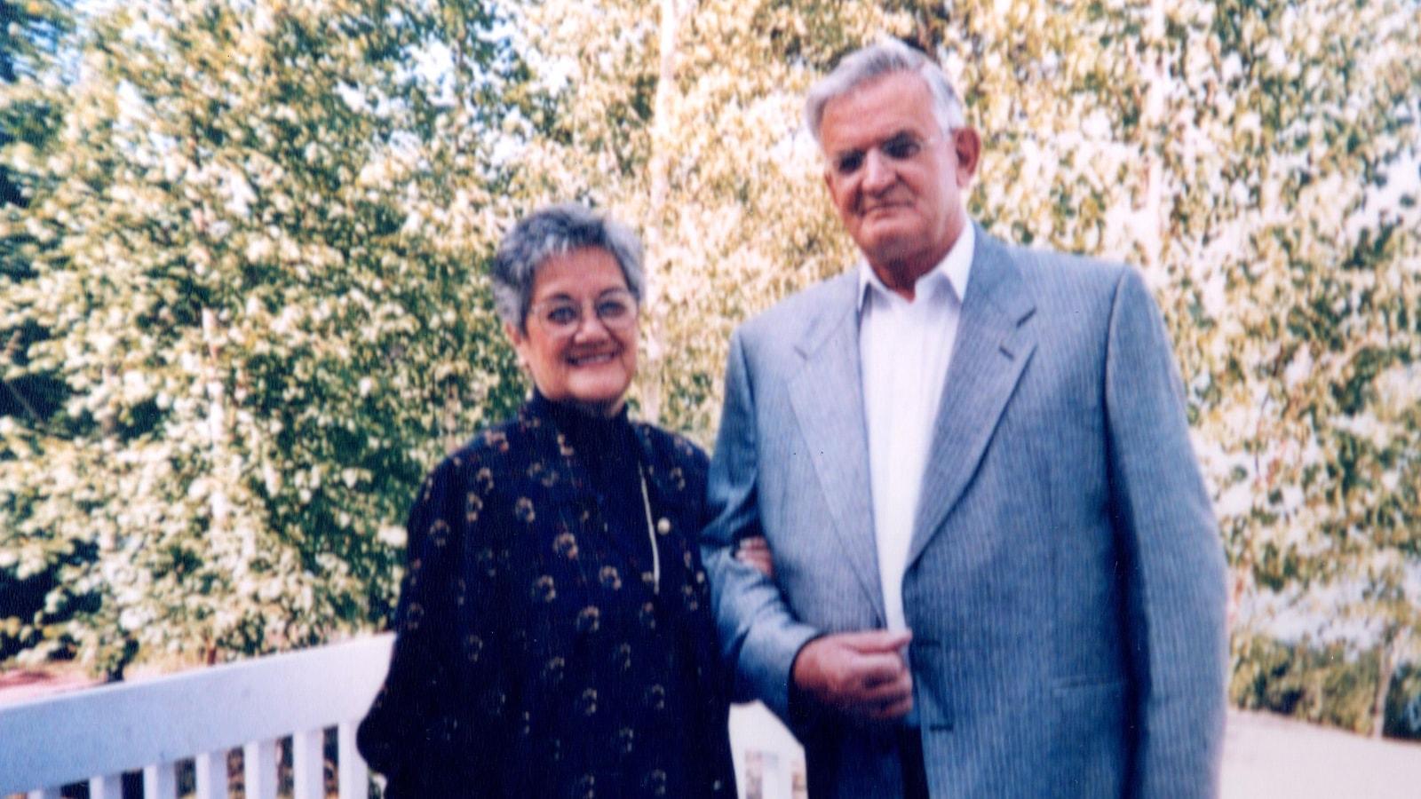 Les parents adoptifs de Serge, Monique Chevrier et Jean-Marc Gagné