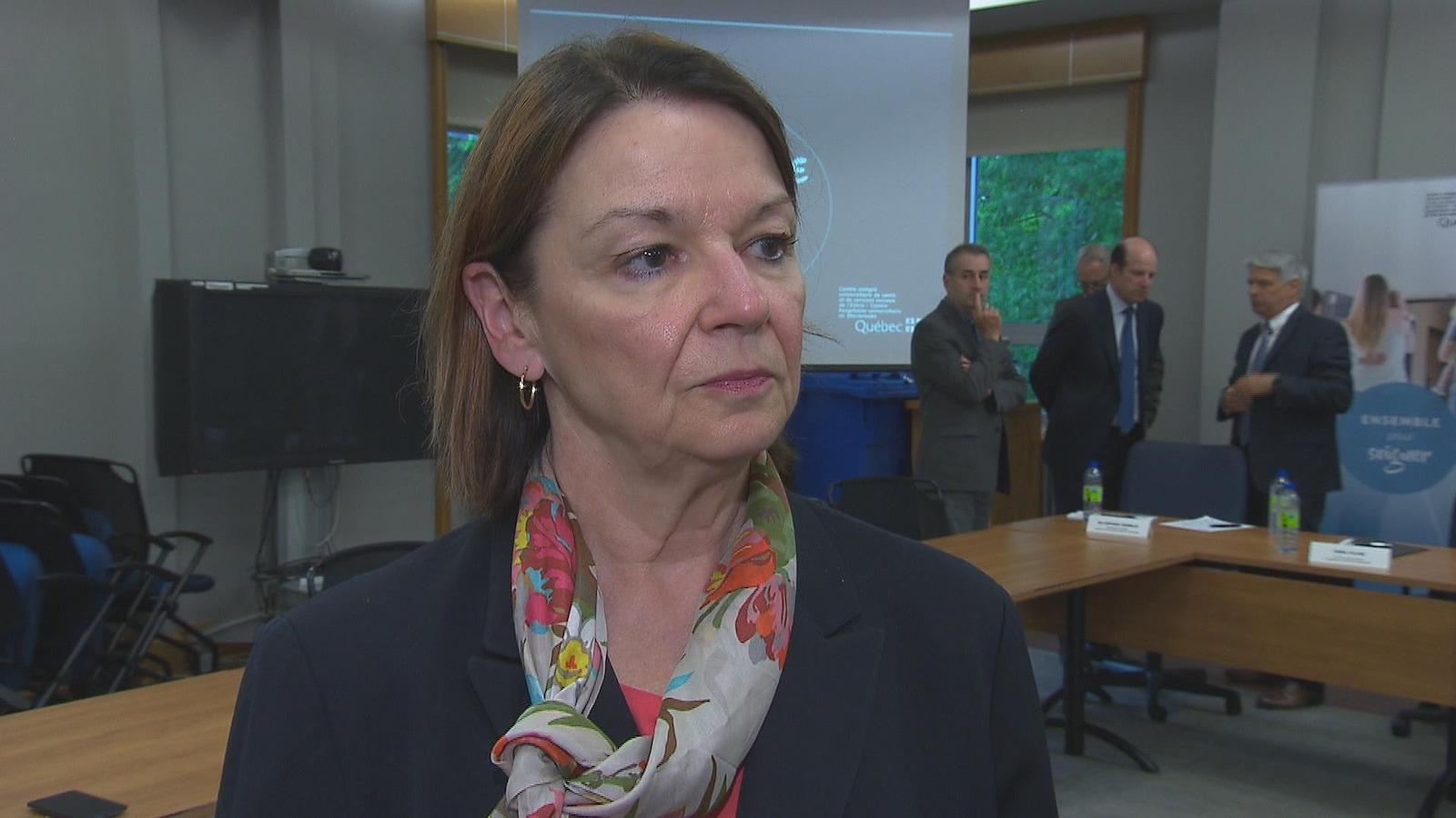Patricia Gauthier, directrice générale du CIUSSS de l'Estrie-CHUS